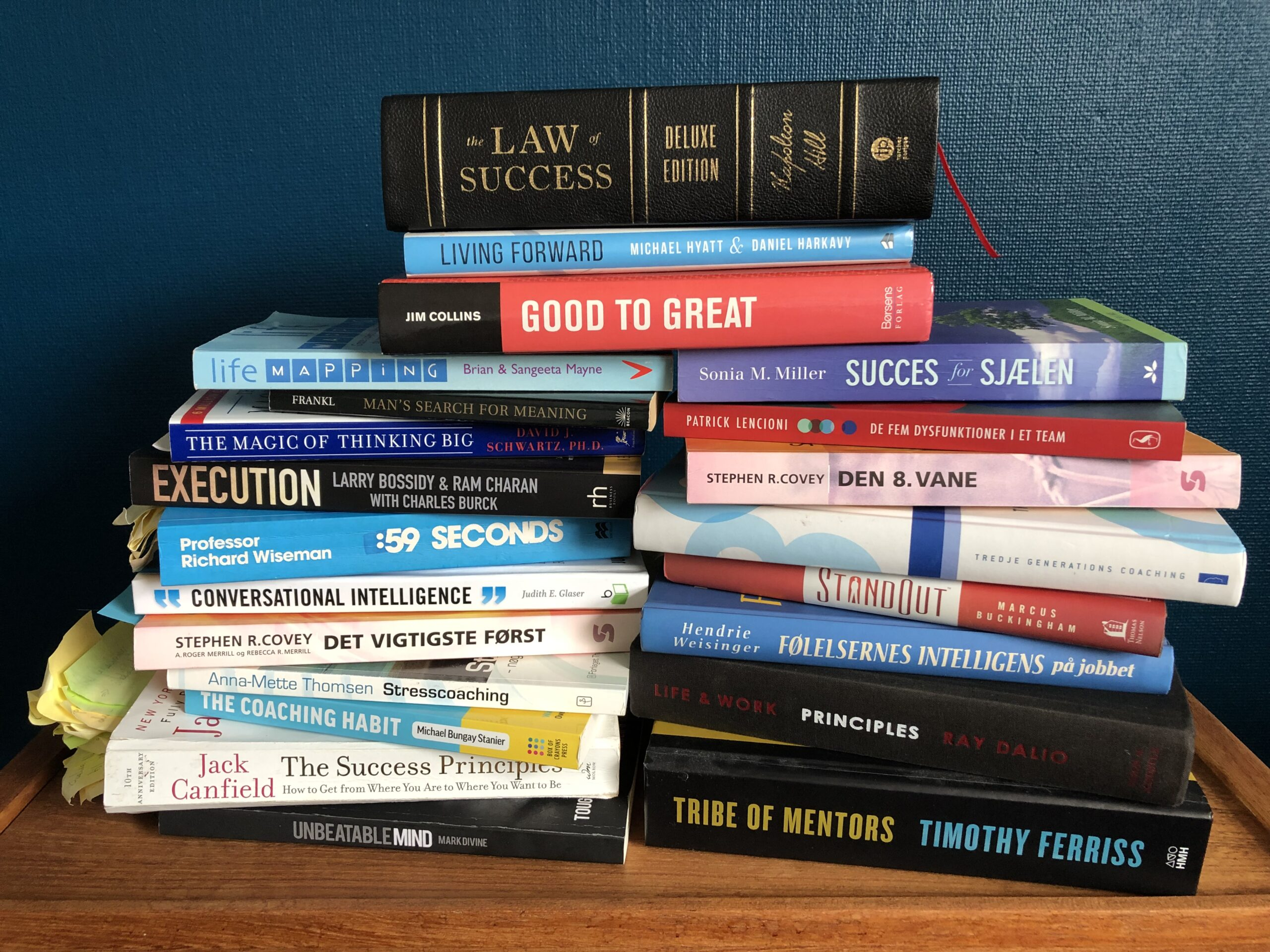 Bøger om personlig udvikling